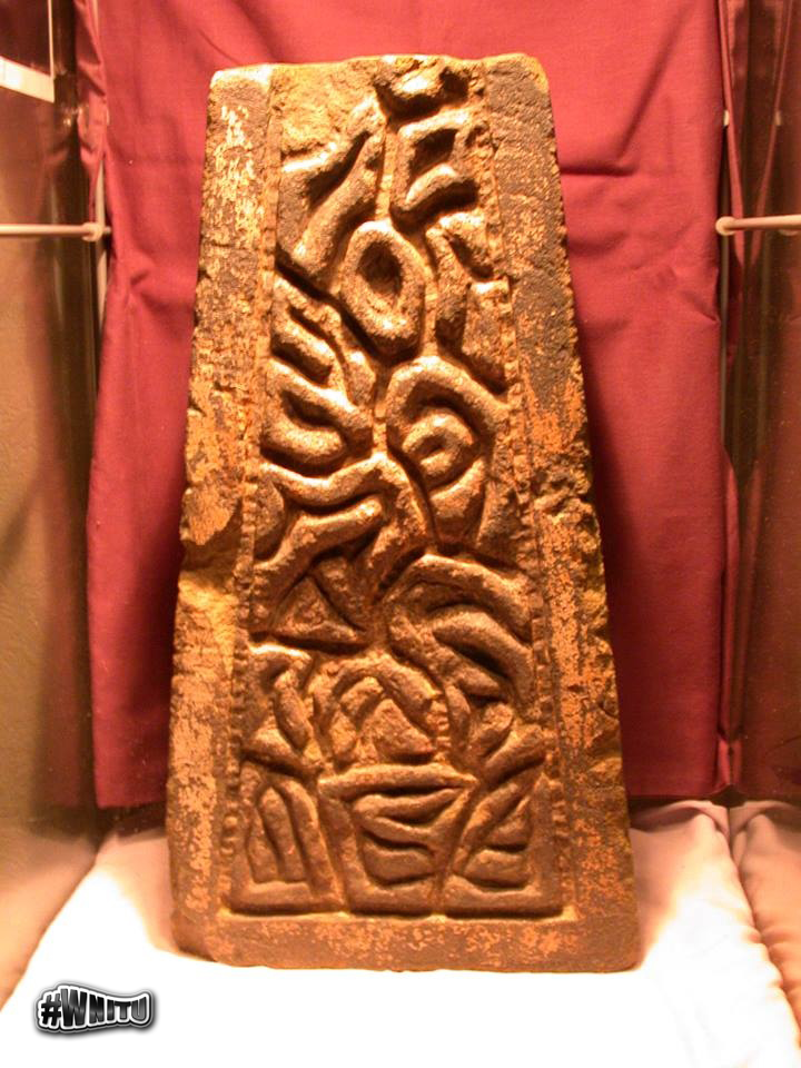 Mysterious stone carving may contain old message wnitu